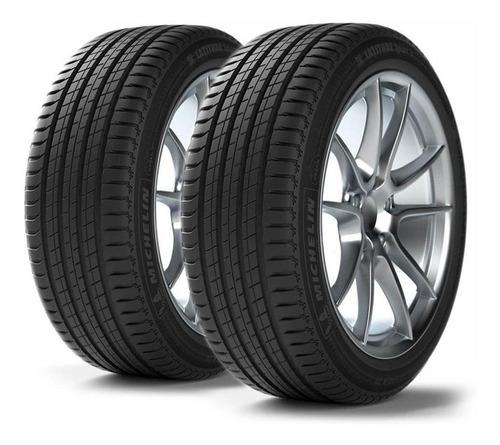 Imagen 1 de 12 de Kit X2 Neumáticos 275/45/21 Michelin Latitu Sport 3 Mo 107y