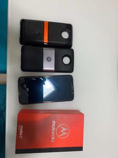 Celular Moto Z Play Com Periféricos