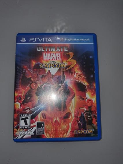 Ultimate Marvel Vs Capcom 3 - Ps Vita - Mídia Física