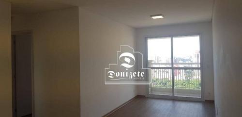 Apartamento Com 3 Dormitórios À Venda, 77 M² Por R$ 520.000,00 - Vila Alzira - Santo André/sp - Ap16049