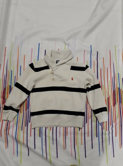 Ch Sweaters Polo Ralph Laurent Niño 4años N-hilfiger Lacoste