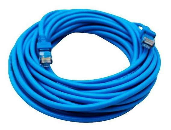Cable Para Red Ghia 7.5 Mts 22.5 Pies Cat 5e Utp Azul