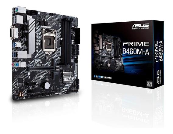 Motherboard Asus Prime B460m-a Intel 1200 10ma Gen Ddr4 Pc