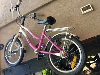 Bicicleta Nena Usada Rodado 14, Robinson.Acepto Mercado Pag