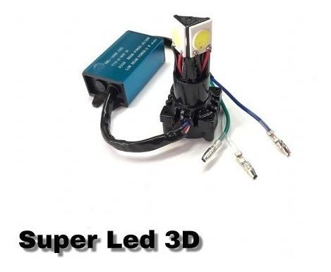 Lampada Farol Led 3d Ybr 125 / Factor 125 / Xtz 125