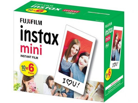 Papel Filme Fujifilm Instax Mini 60 Fotos 5,4 X 8,6