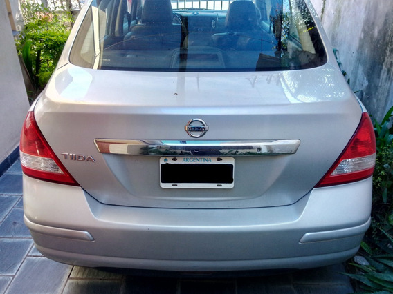 Nissan Tiida Motor 1.8 Tekna Full 2008 Plateado 4 Puertas