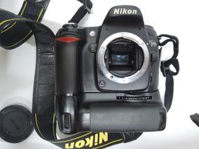Camera Nikon D80 Com Grip Perfeito Estado Pouco Uso S/lente