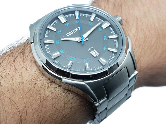 Relógio Masculino Orient Mbss1348 Original Aço Inox Nf-e