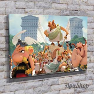 Cuadros Lienzo 45x30 Película Historietas Astérix Obélix Y +