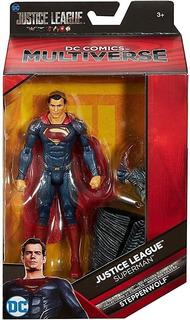 Muñeco Unico Superman Dc Multiverse 22372 Local/envios