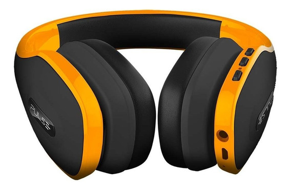 Over Ear Wireless Pulse Bluetooth Amarelo - Ph151