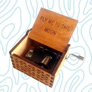 Caja Musical Fly Me To The Moon Evangelion Ending