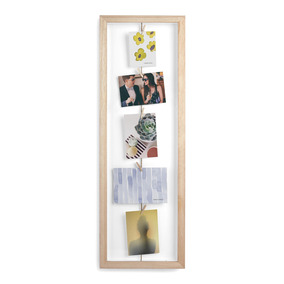 Umbra Moldura De Parede Clothesline Flip Photo Display ( Noe