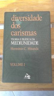 Livro: Diversidade Dos Carismas.(frete Grátis.)