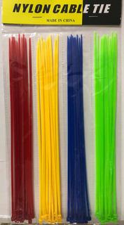 Cinchos Plásticos De Colores 50 Pzas 250mmx3mm