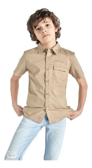 Camisa Manga Corta De Niño C&a (1062212)