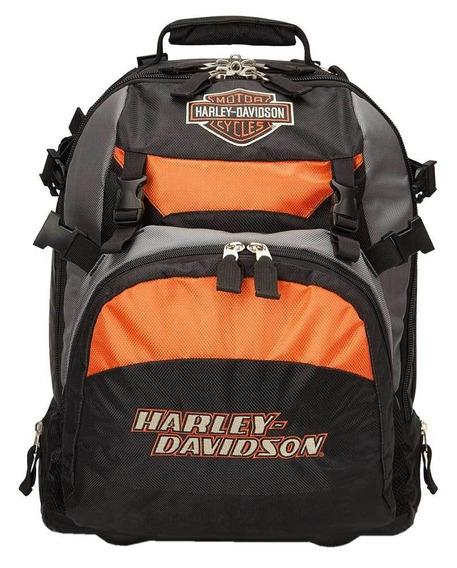 Mochila Mala Viagem Harley Davidson Original 99411