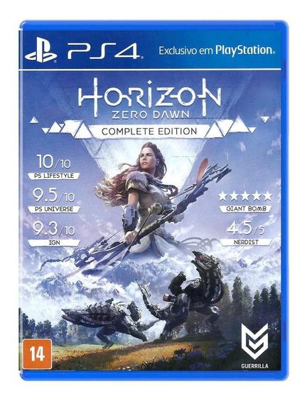 Horizon Zero Dawn Complete Edition - Mídia Física (ps4) Novo