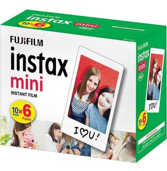 Filme Fujifilm Instax Mini - Pack 60 Unidades