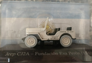 Autos Inolvidables 80&90 #37: Jeep Cj12 Fundacion Evita 1955
