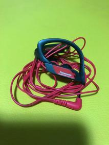 Fone Ouvido Esportivo Panasonic Vermelho
