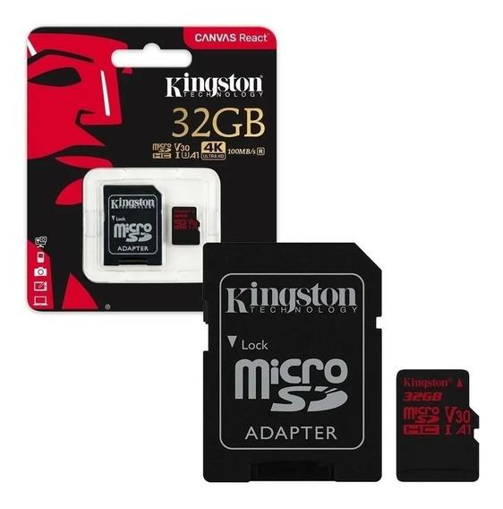 Cartao De Memoria Kingston Classe 10 Sdrc 32gb Micro Sdhc 32