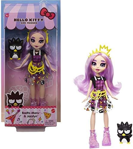 Imagen 1 de 6 de Muñecas  Hello Kitty & Badtz-maru Figura Y Muñeca