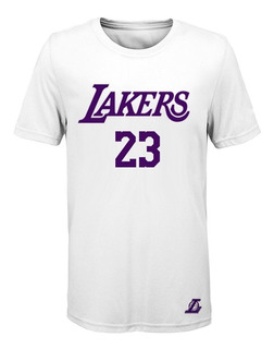 Remera Basket Nba Los Angeles Lakers (004) #23 Lebron James