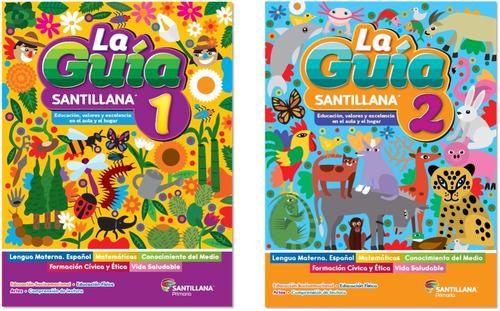 Imagen 1 de 1 de Caja 17 1º(8) + 2º(9) Paq Guía Santillana Primaria 2021