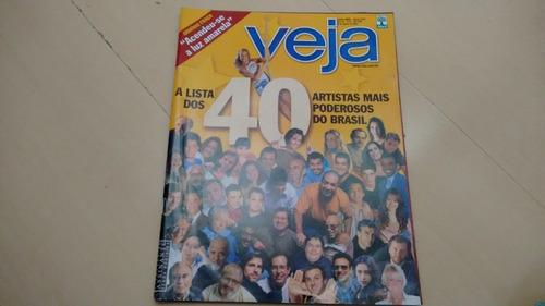 Revista Veja 1814 Luciano Hulk Faustão Xuxa Jô Soares K387