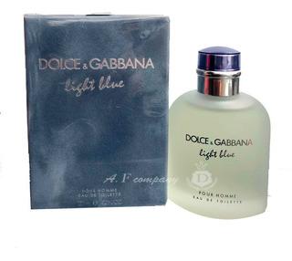 Perfume Dolce Gabbana D&g Light Blue Pour Homme Edt 125ml
