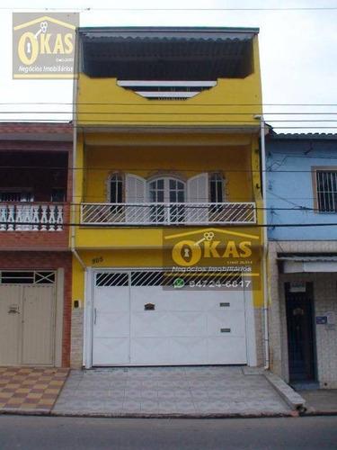 Imagem 1 de 15 de Sobrado Com 4 Dormitórios À Venda, 219 M² Por R$ 330.000,00 - Jardim Margarida - Mogi Das Cruzes/sp - So0187