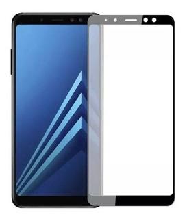 Película 5d Tela Curva Vidro Temperado Galaxy A8+ Plus A730