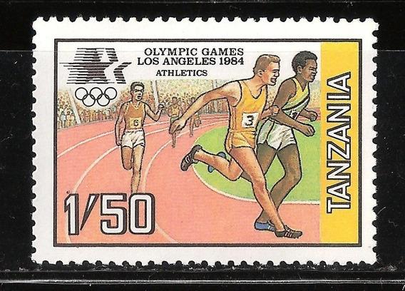 Tanzania - Juegos Olimpicos De Los Angeles - 1984