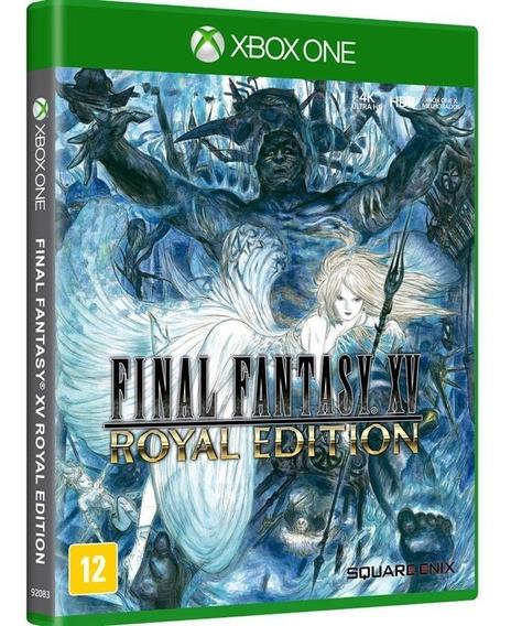 Final Fantasy Xv Royal Edition - Xbox One Lacrado Mid Física