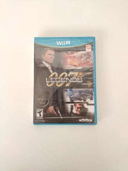 007 Legends Nintendo Wii U Midia Fisica Novo Lacrado