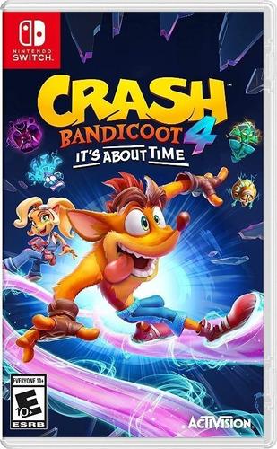 Imagen 1 de 1 de Crash Bandicoot 4 It's About Time Nintendo Switch