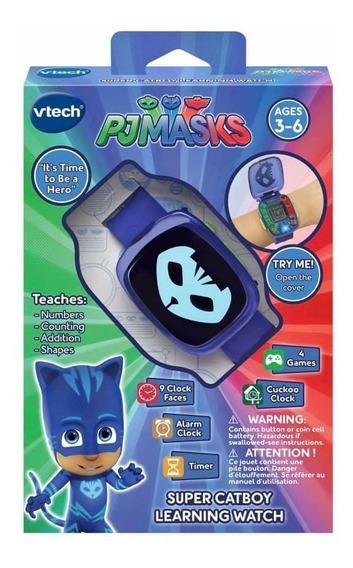 Relógio Pj Masks Infantil Menino Gato Importado Eua