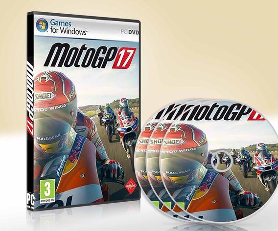 Motogp 17 - Pc Dvd - Mídia Física - Frete 8,00 Reais