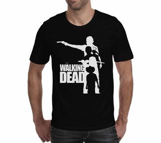 Camiseta The Walking Dead - Preta