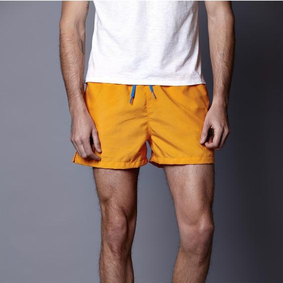 Traje De Baño Naranja Crouch