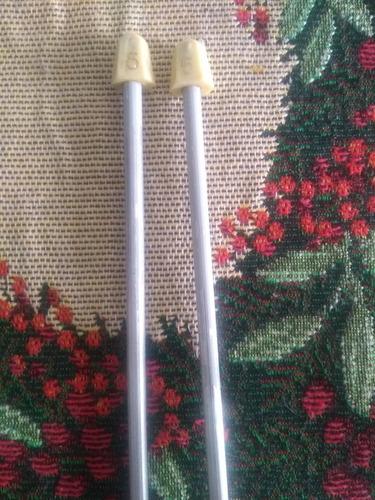 Imagen 1 de 10 de Kit De Agujas Para Tejer + Tambor Para Bordar+ Lanas