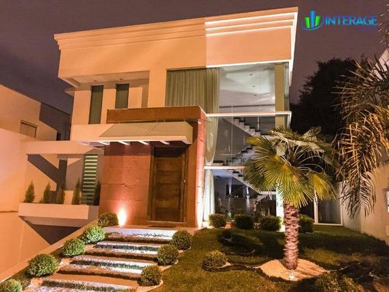 Casa Com 4 Dormitórios À Venda, 450 M² Por R$ 2.100.000 - Santa Felicidade - Curitiba/pr - Ca0053