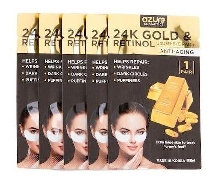Azure - 24k Gold & Retinol - Anti-aging Pads