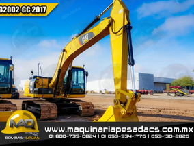 Excavadora Caterpillar 2017 320d2-gc