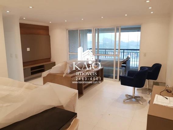 Apartamento Mobiliado De 95m² Com 3 Dormitórios 1 Suite 2 Vagas - Ap1196