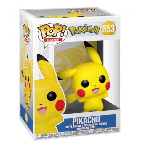 Imagem 1 de 3 de Boneco Funko Pop! Pokémon - Pikachu Waving