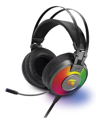 Headset Gamer Com Luzes Rgb G Pro H3+ Ch 7.1 Cinza Fortrek