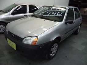 Ford Fiesta 1.0 Rocam Se Plus Flex Completo 2014 Prata